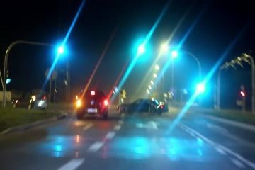 Video: Drift-Action bei Nacht