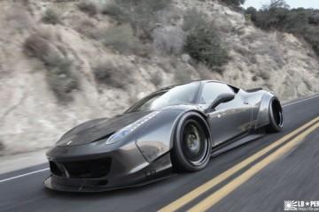 Video: Ferrari 458 Italia von Liberty Walk Performance