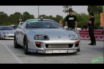 Video: Real Street Performance Supra beim Drag Mania 2014