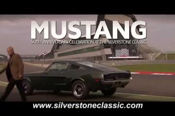 Video: Silverstone Classic 'Bullitt' homage