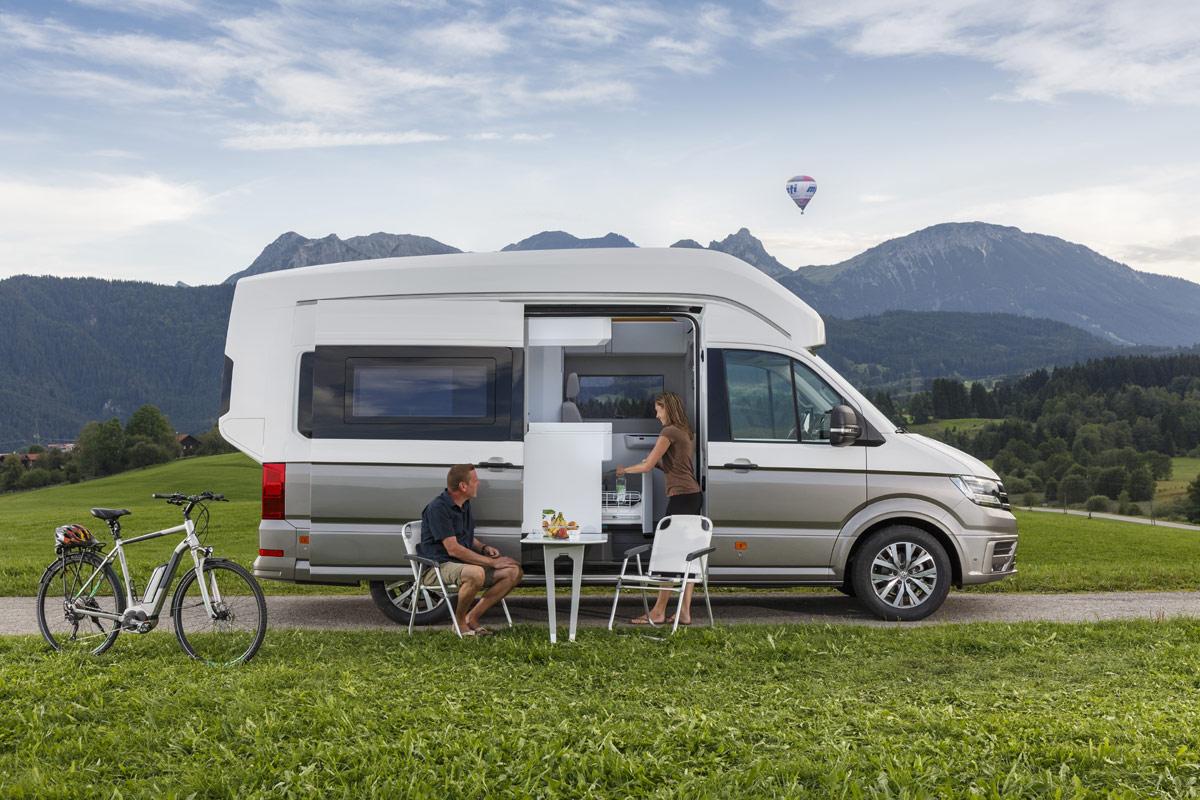 VW California XXL: Schicke Wohnmobil-Studie auf Crafter-Basis