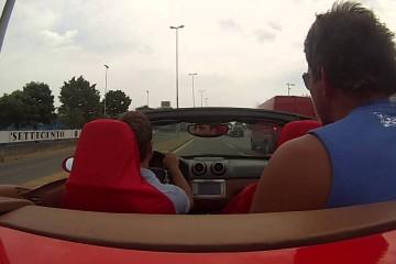 Video: Crash bei der Ferrari-Probefahrt
