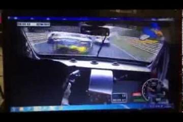 Video: Crash beim 24h-Rennen auf der Nordschleife