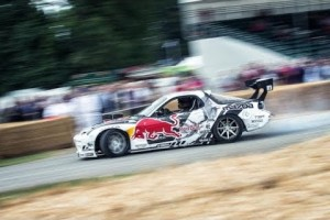 Video: Mad Mike in seinem Monster-RX7 beim Festival of Speed 2014