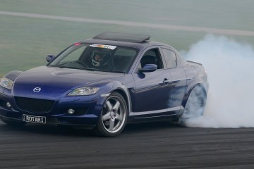 Video: Mazda RX8 Turbo