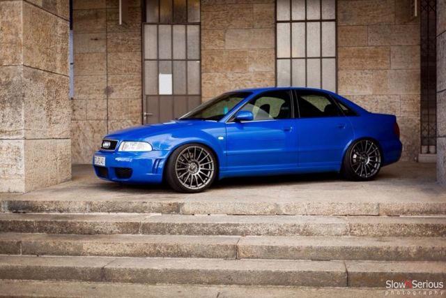 Blauer Blitz Audi Rs4 B5 Mit 700 Ps Steht Bei Mobile De
