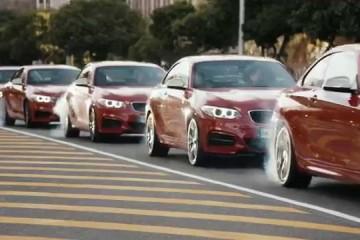 BMW M235i Driftmob: Fünf-fache Driftaction in Kaptstadt