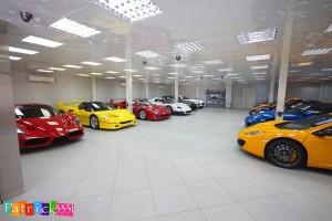 Video: Exklusive Sportwagen-Sammlung
