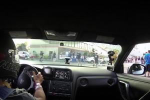 Video: Nissan GT-R AMS Alpha 16 beim Buschur Racing Event