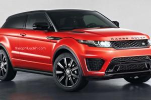 Land Rover Evoque SVR