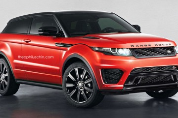 Land Rover Evoque SVR