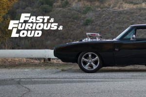 Dodge Charger aus Fast and Furious im Portrait