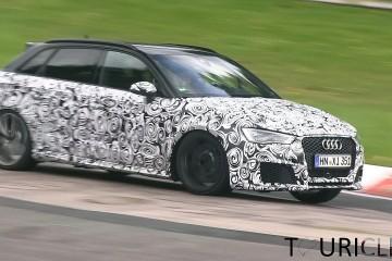 Video: Audi RS3 Erlkönig unterwegs auf der Nordschleife