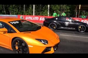 Video: Porsche 911 Turbo S vs. Lamborghini Aventador LP700-4