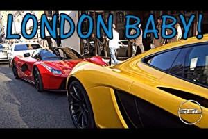 Video: Sport- und Super-Sportwagen in London