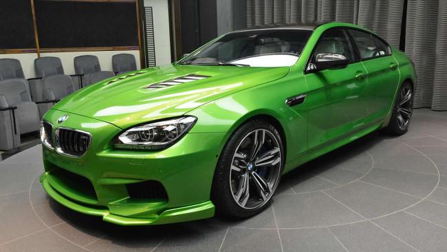 BMW M6 Gran Coupé Javagrün txt 1