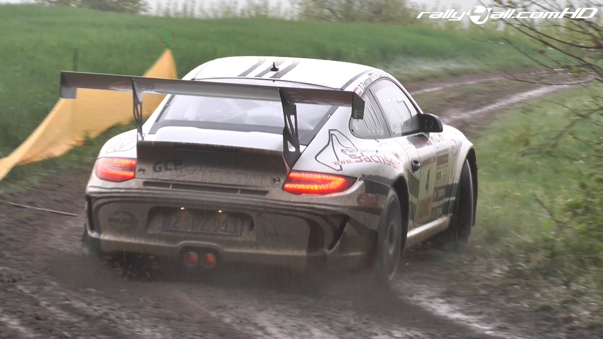 Porsche 911 Gt3 Rs Im Rallye Einsatz