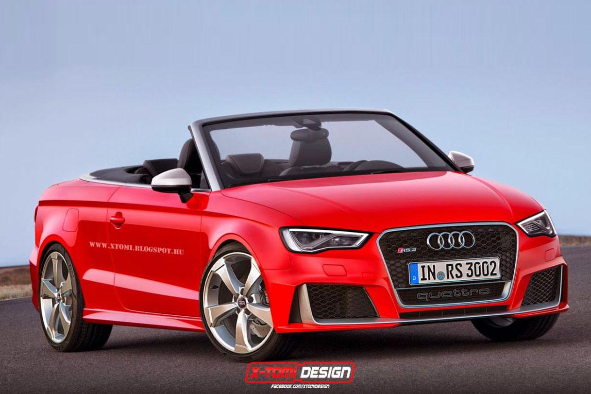 Audi RS3 2014 Skizzen