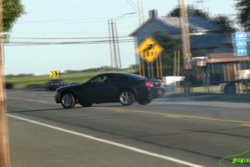 Video: Burnout-Fail im Ford Mustang