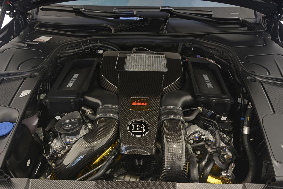 Mercedes S-Klasse Coupe Brabus 850 6.0 Biturbo Coupe (18)