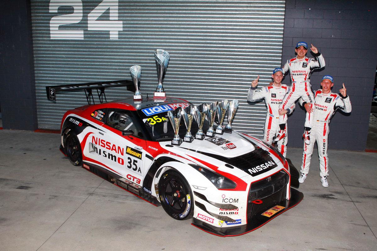 Nissan GT-R GT3 12h Bathurst 2015