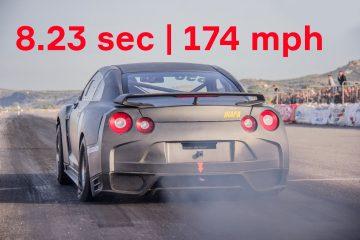 Nissan GT-R von Altechno A1: Stramme 8,23 Sek. auf der Viertelmeile