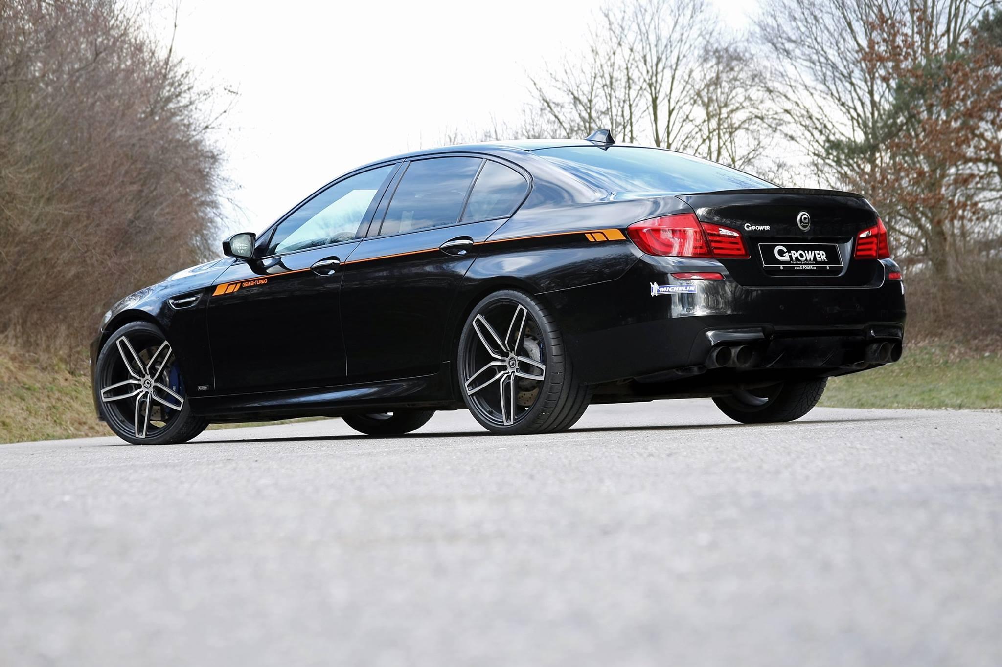 BMW M5 F10 G-Power 2015