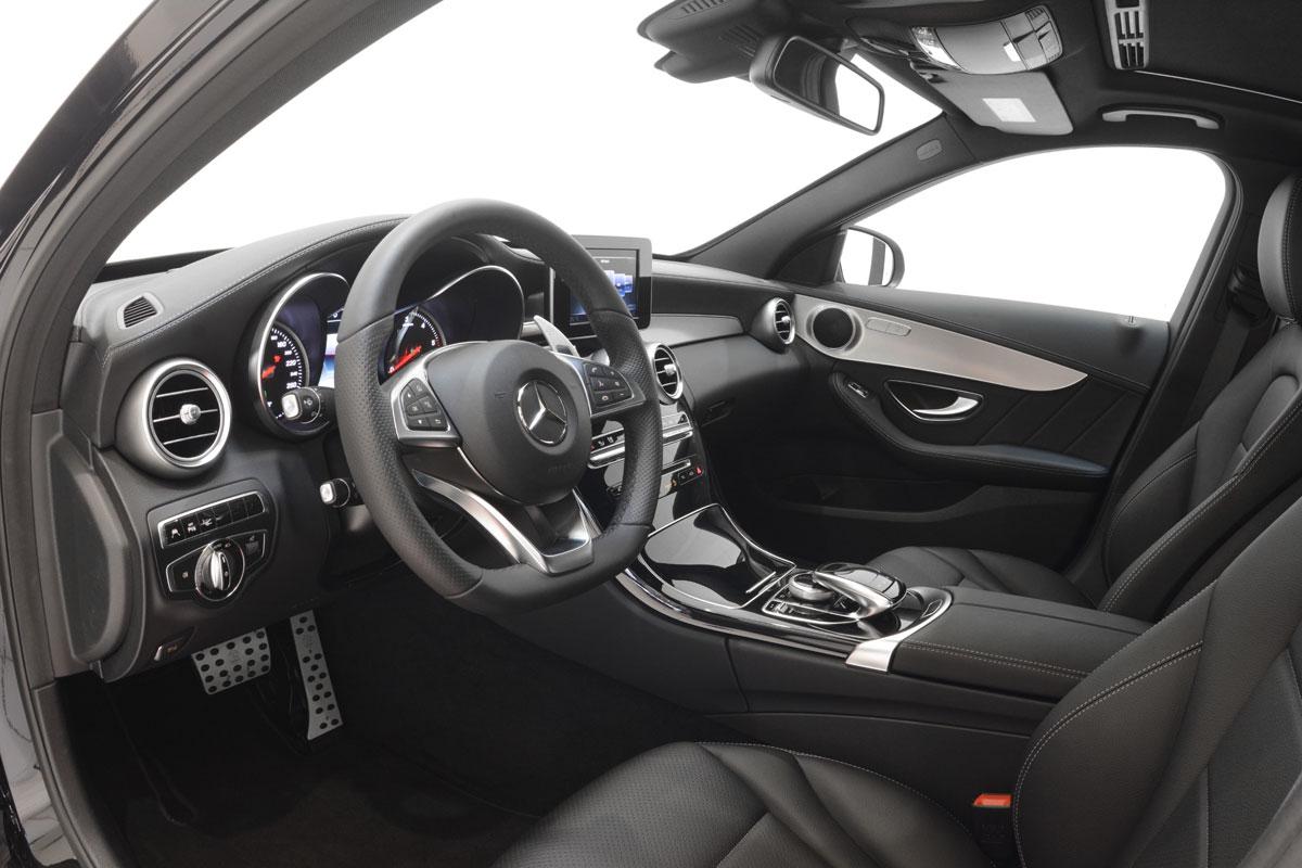 Mercedes C  H Test