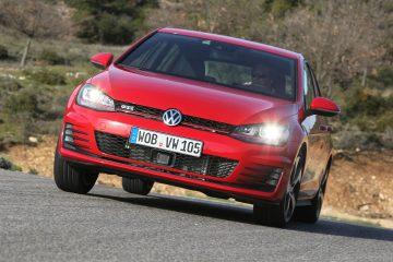 Bei uns im Test: VW Golf GTI mit Performance Paket