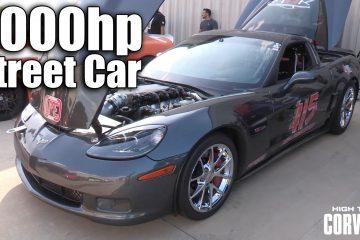 Video: Corvette mit über 2.000 PS und Straßenzulassung