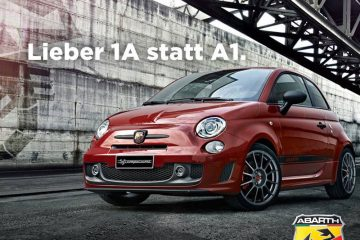 Abarth-Werbung-vs-Audi-A1