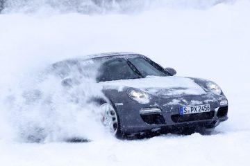 Porsche Winter