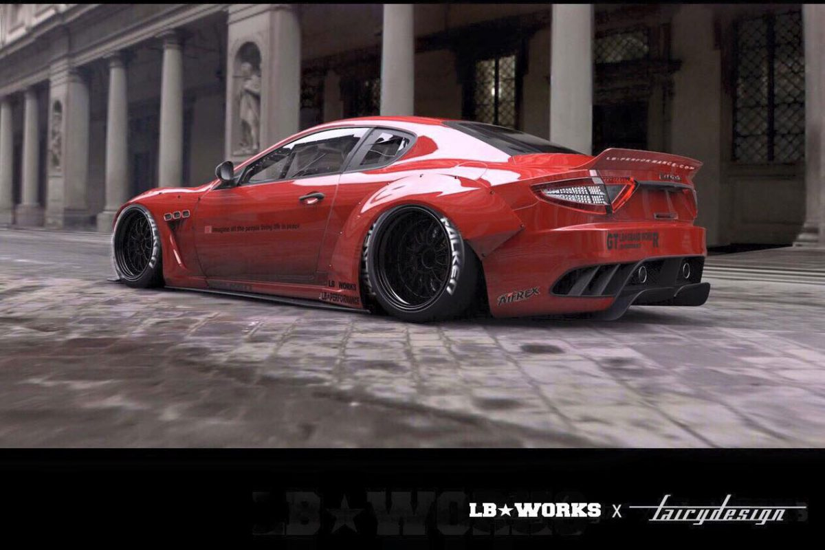 Maserati Gran Turismo Liberty Walk Performance 2015 (1)