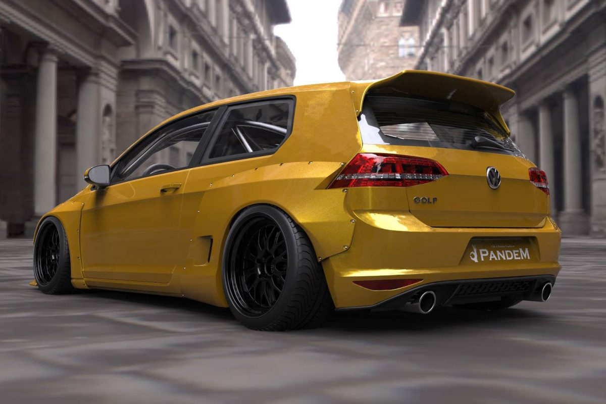 VW Golf VII Pandem Blister Rocket Bunny (1)