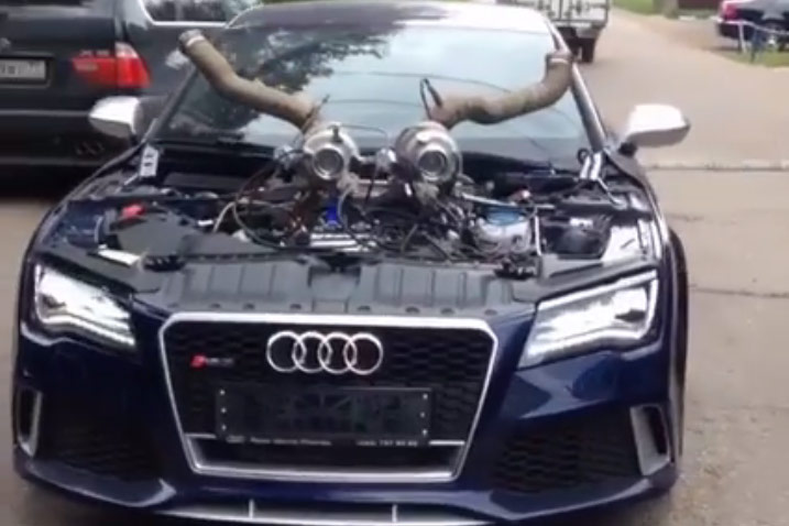 Video Audi Rs7 Stage 10 Extremtuning