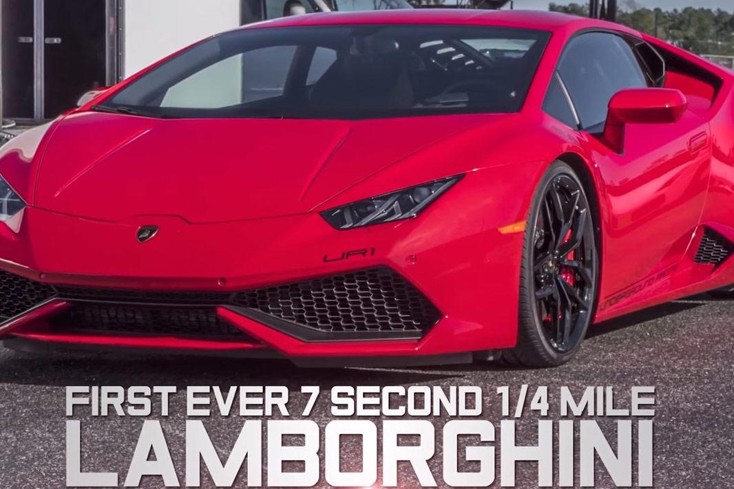 Lamborghini Huracan Twinturbo Rekord Underground Racing