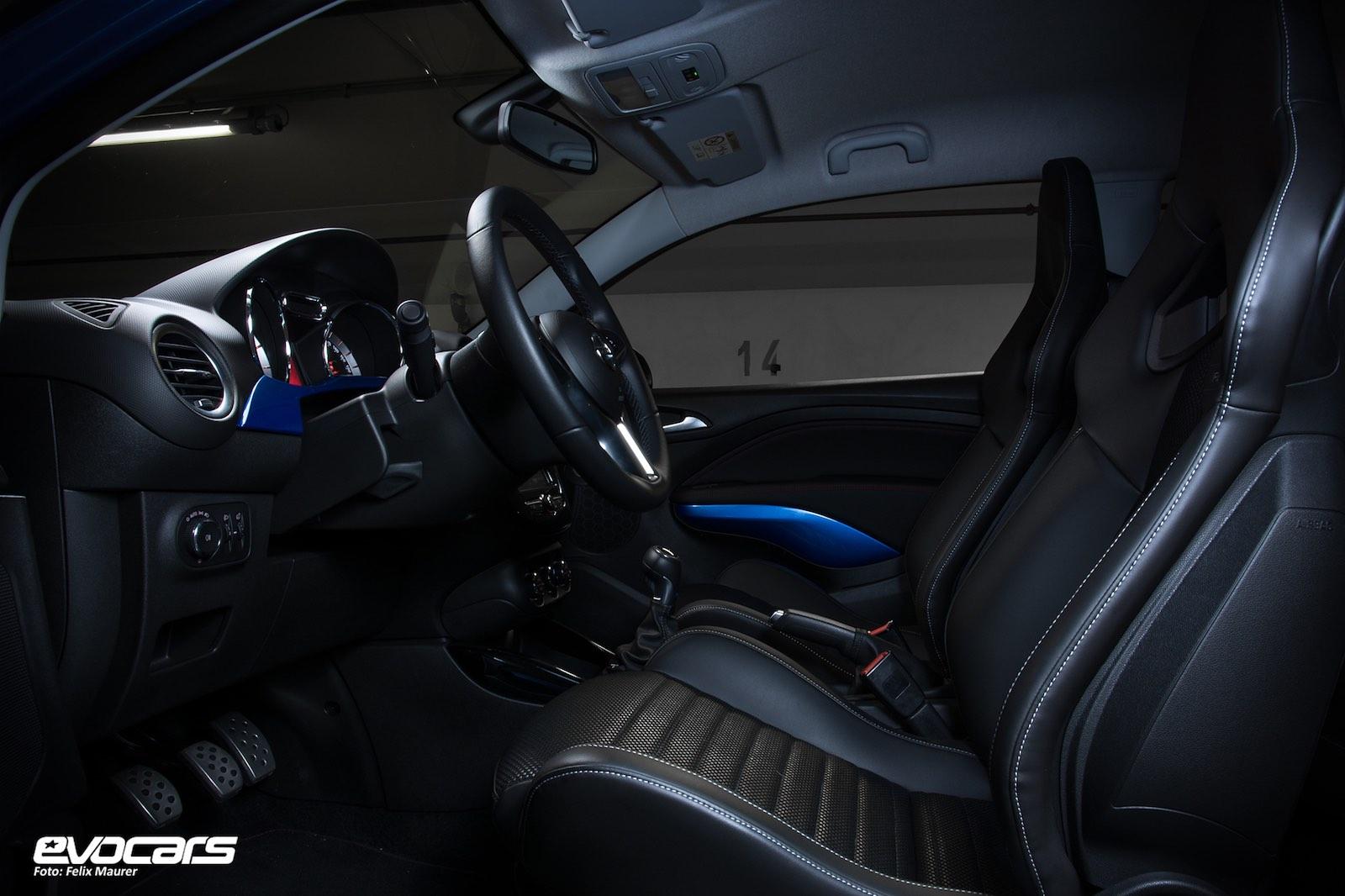 Opel Adam S Innenraum
