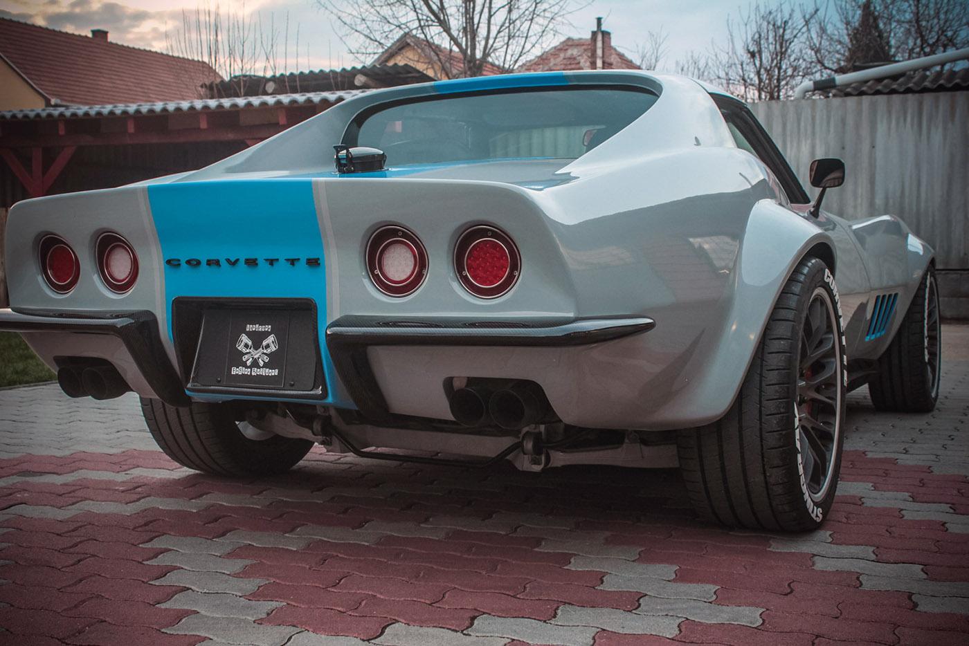 Corvette C3 mit C6-Technik