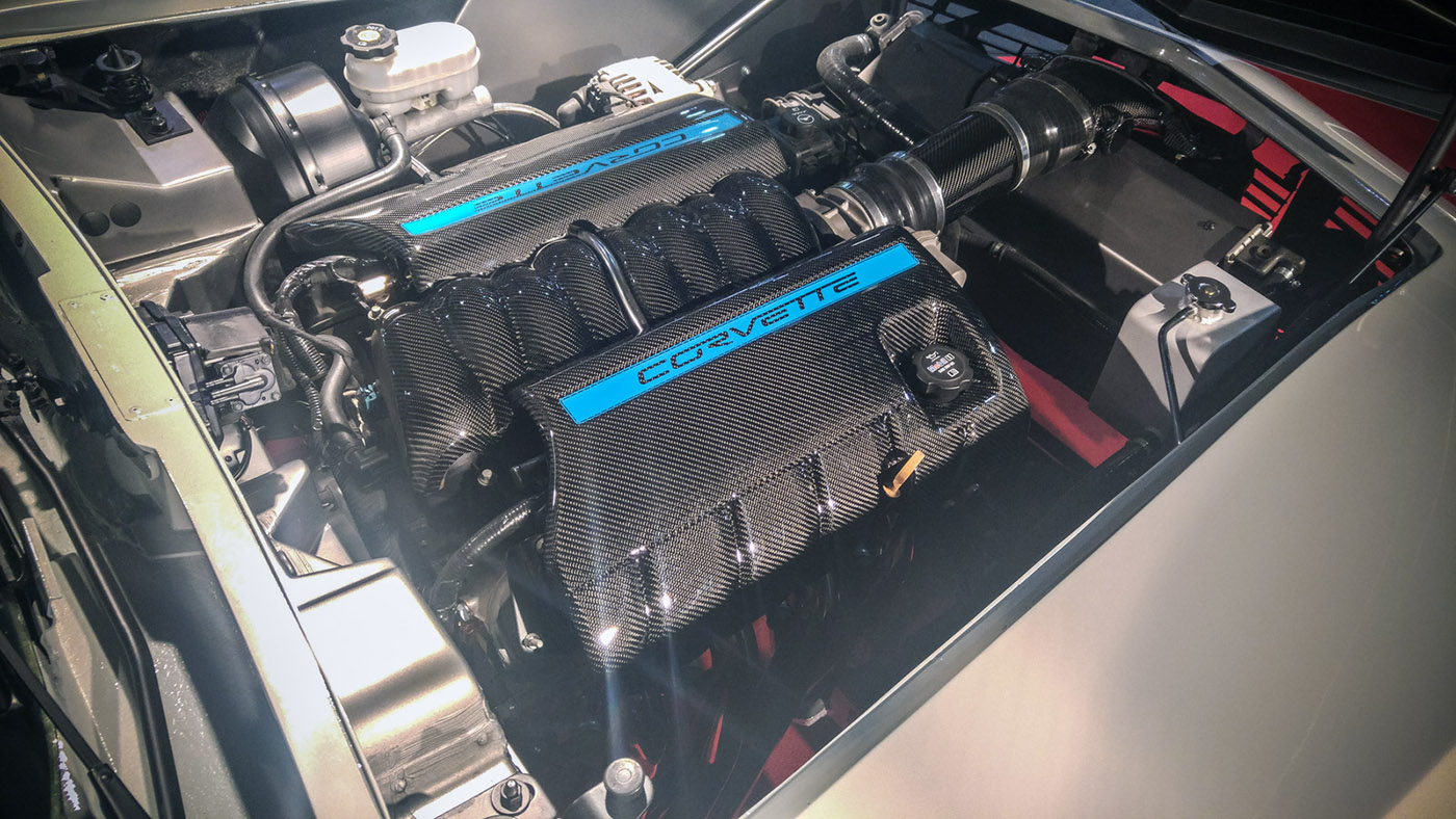 Neues Modell, Originalteile: Corvette C3 mit C6-Technik