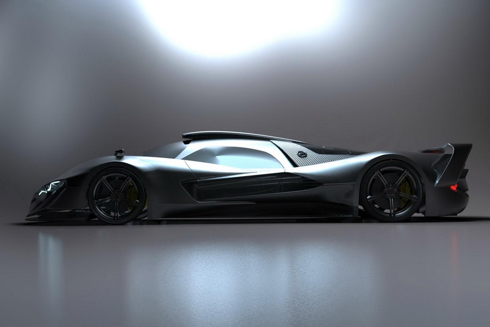 Mercedes Supercar 2016 (Mark Hostler)