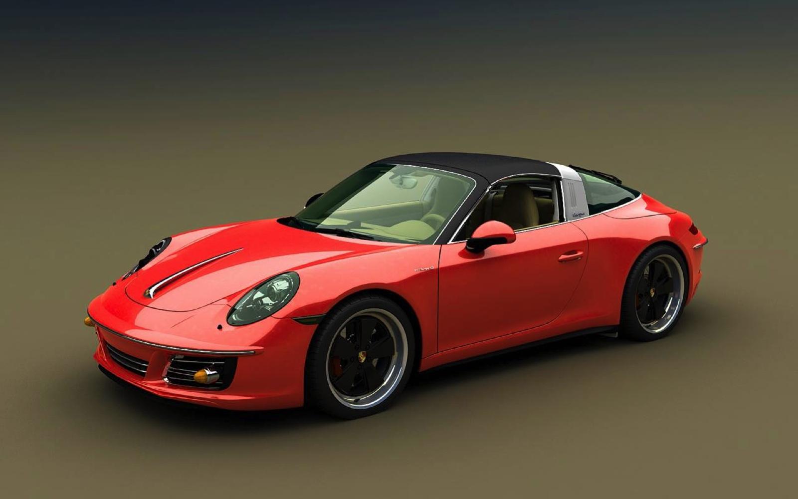 Jaguar F Type Tuning >> Retro-Look: Bo Zolland zeigt Bodykit für den Porsche 991
