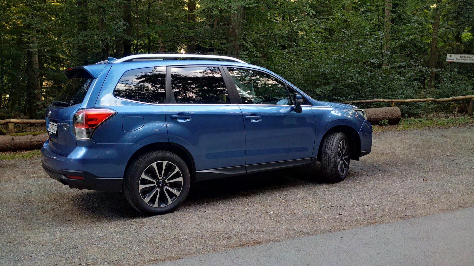 Subaru Forester 20XT 6