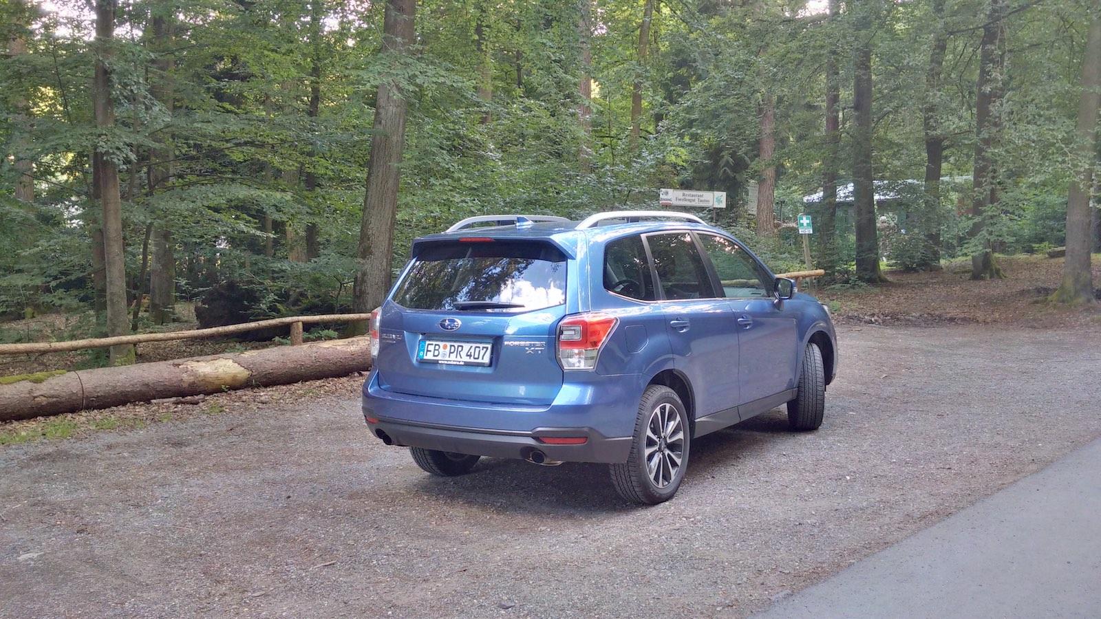 Subaru Forester 20XT 7