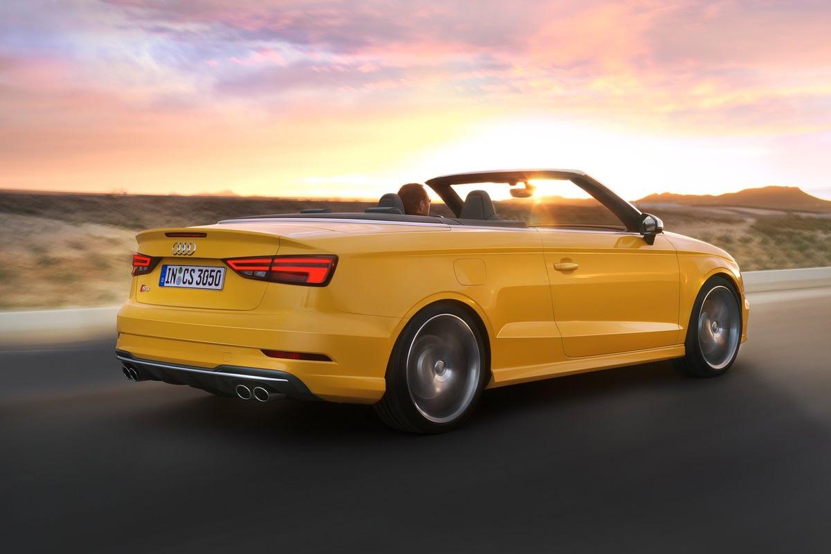 gelbe seite audi s3 cabrio im test. Black Bedroom Furniture Sets. Home Design Ideas