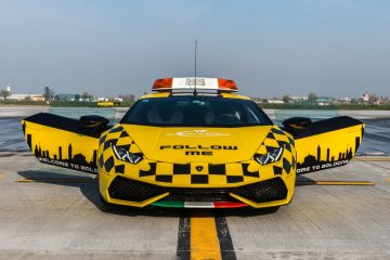Lamborghini Huracán Follow-me-Car