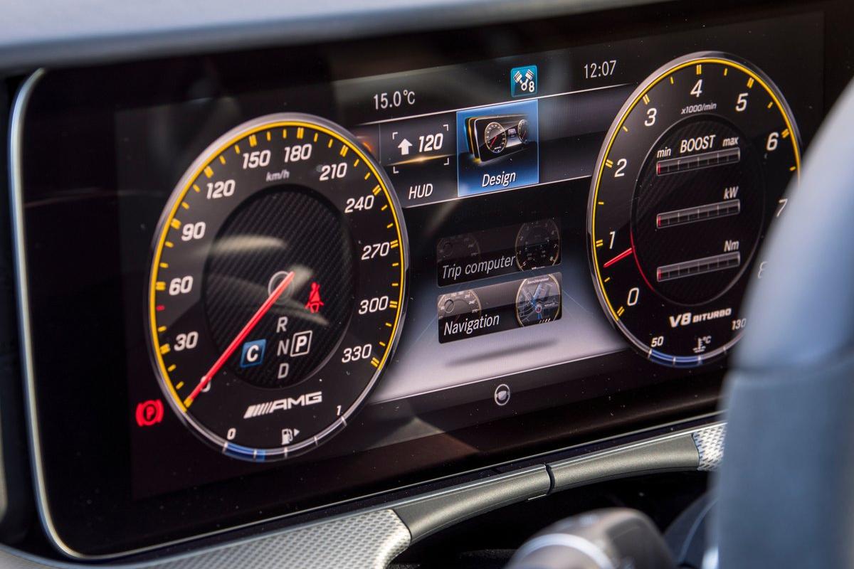 Ab 2017 auch in der G-Klasse - das virtuelle Cockpit von Mercedes.