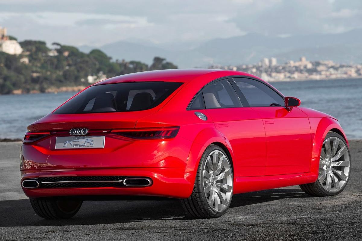 Audi A3 Coupé-Limo - kommt der CLA Konkurrent?
