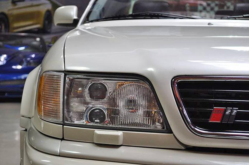 ein traum in perlmuttweiß – audi s6 20v turbo quattro