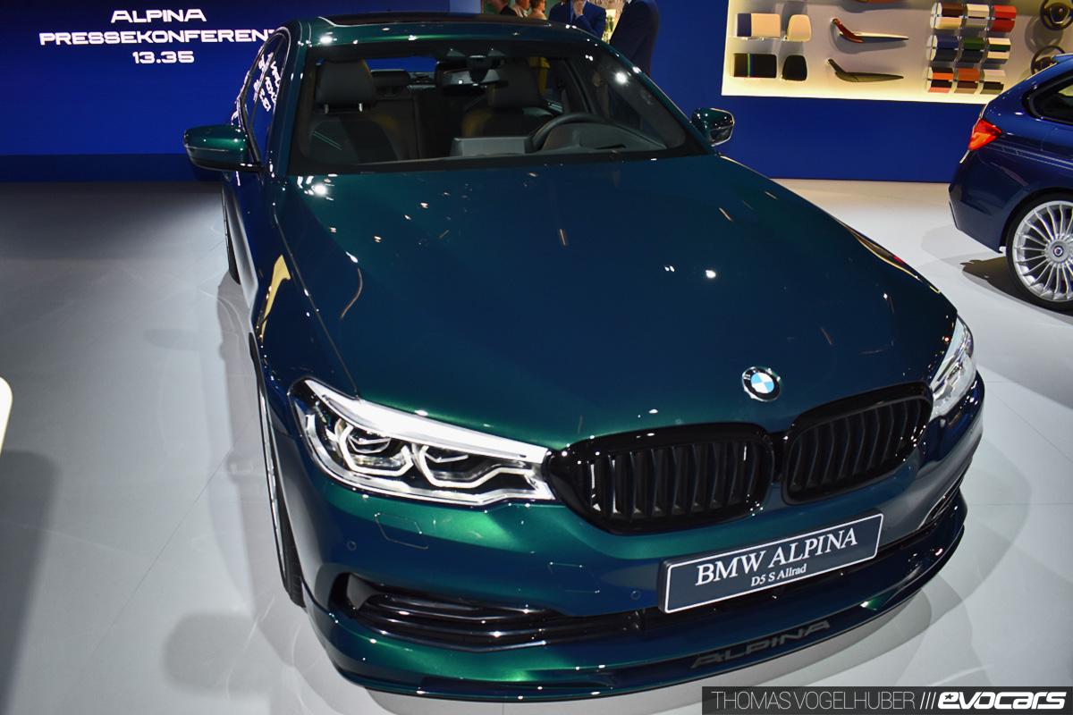 BMW Alpina D5 S (2017)