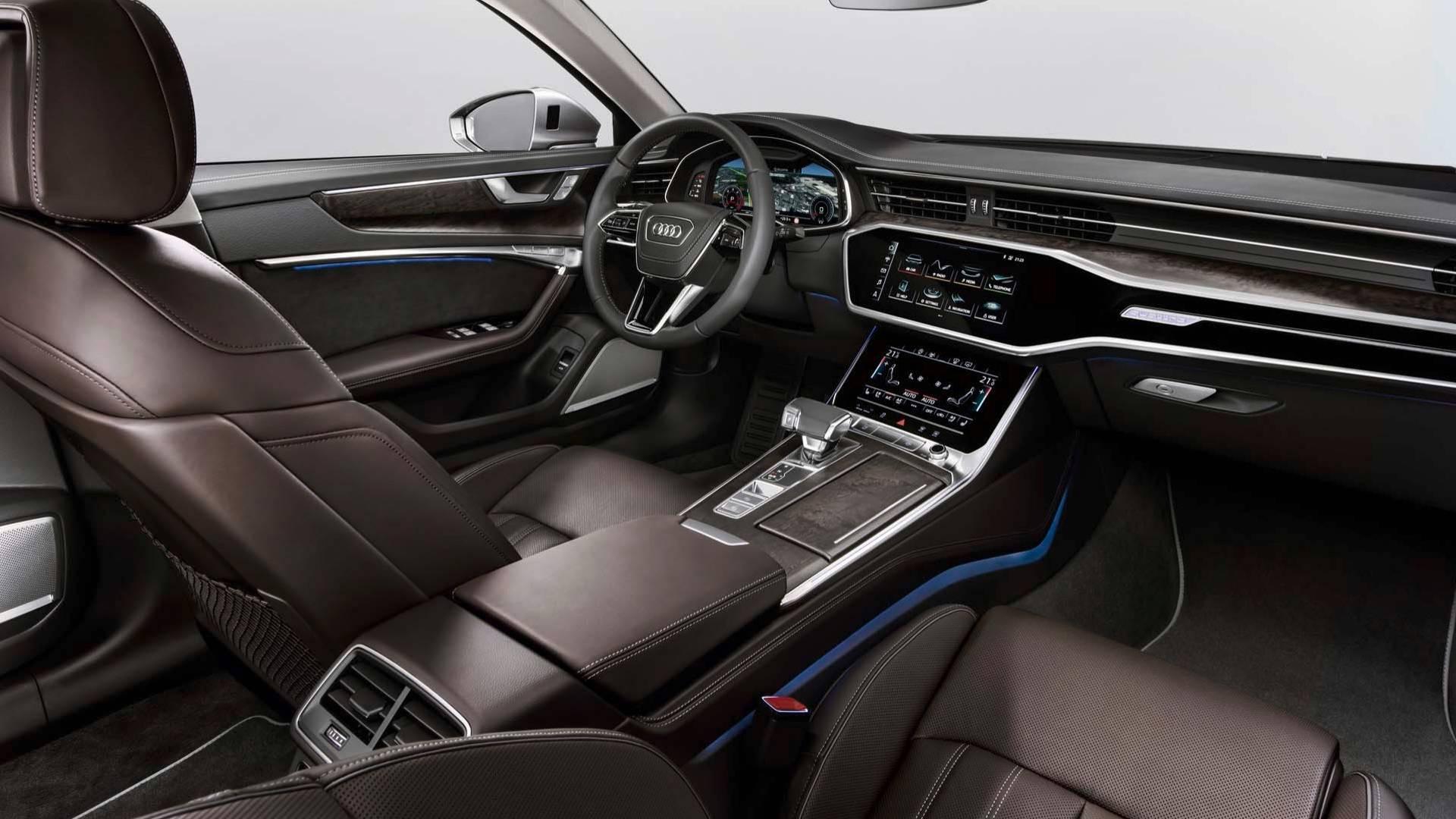 Zwischen Heute Und Morgen Der Neue Audi A6 C8